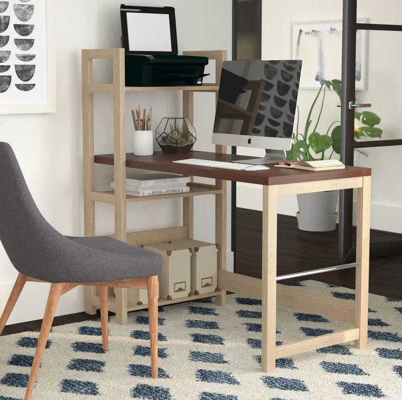 bàn làm việc gỗ hiện đại